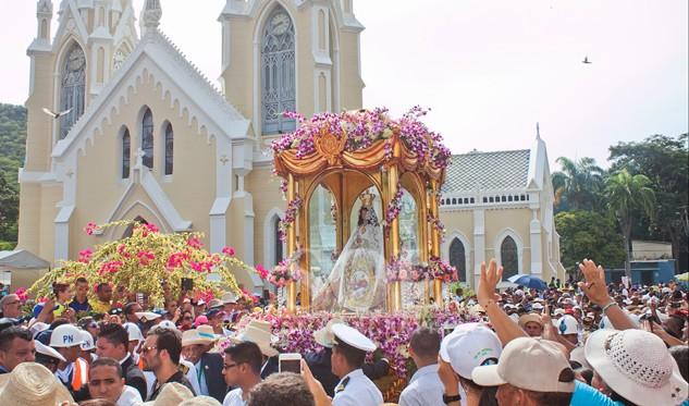 Festividad de la Virgen del Valle - Artinsa, arte, religión y cultura de Venezuela