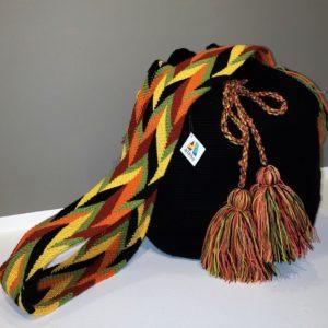 Bolso Wayúu Artesanal Venezolano - Tiendas de artesanía Venezolano - Artesanías y arte de latinoamérica, Venezuela - Tejidos Wayúu en algodón - diseños