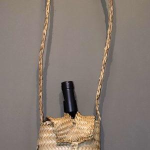 Práctico porta botellas Ideal para regalos de licores o para portar en lugares permitidos, con asa de cierre para impedir caídas y golpes