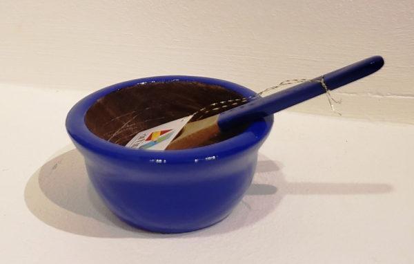 Salseras artesanales hechas por artesanos en Margarita, pintados a mano - Madera de alta calidad