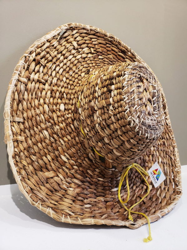 Sombrero típico Margariteño artesanal - pieza de artesanía venezolana 100% realizada por artesanos de Margarita, Venezuela con Mapire de la mejor calidad, durabilidad y flexibilidad