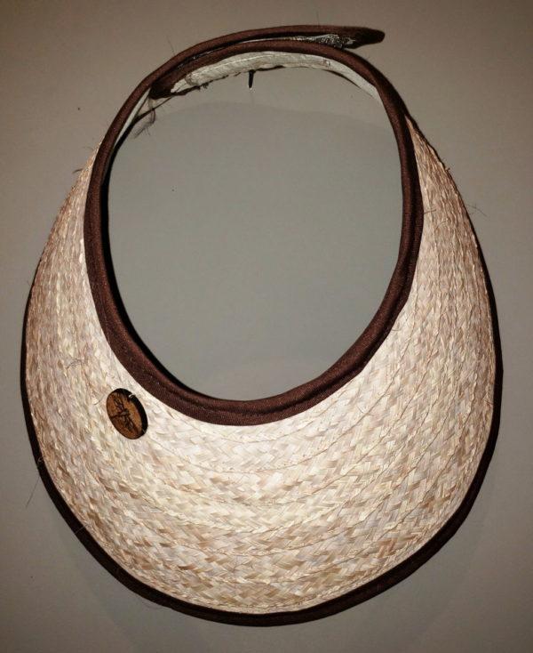 Visera artesanal típica de Venezuela, un sombrero espectacular con el estilo y cultura tropical margariteña, compra en línea arte y artesanía de Venezuela